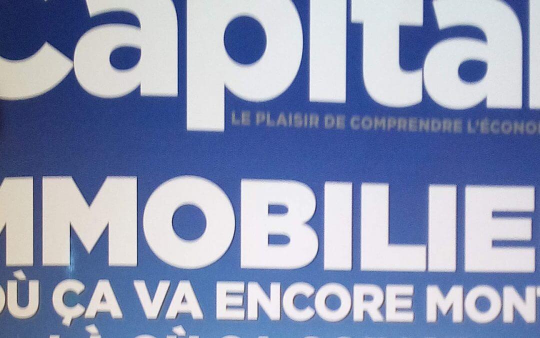 Capital, spécial Immobilier en Rhône-Alpes Auvergne