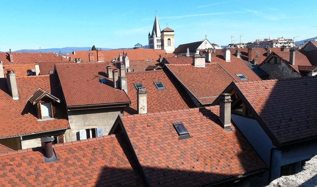 toitures à Annecy