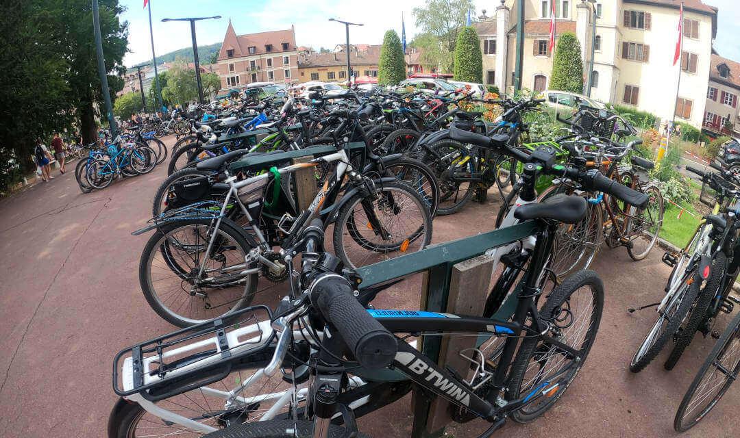 Loger sur Annecy et se déplacer en vélo
